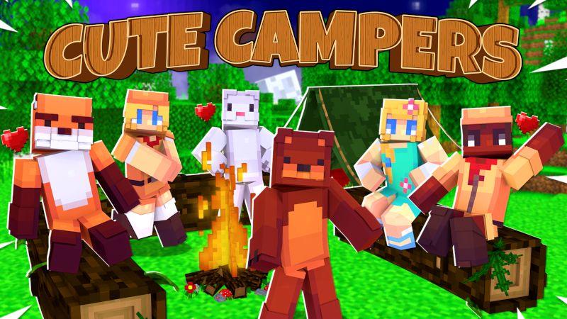 Cute Camper Friends