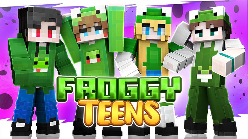 Froggy Teens on the Minecraft Marketplace by Sapphire Studios