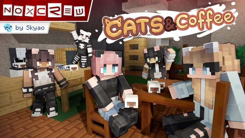 Cats and Coffee on the Minecraft Marketplace by Noxcrew