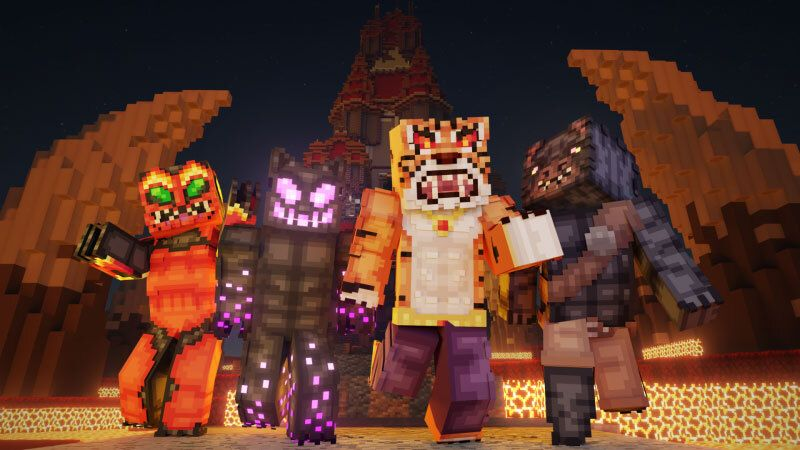 Mutant Monsters on the Minecraft Marketplace by CubeCraft Games