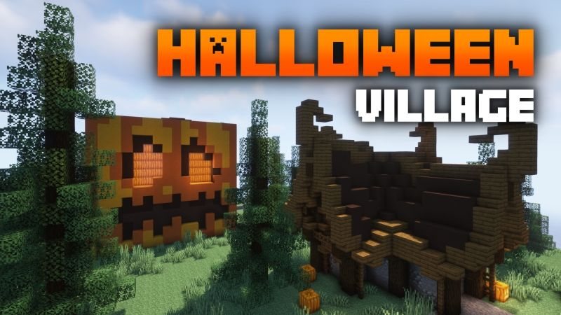 Halloween Village on the Minecraft Marketplace by Fall Studios