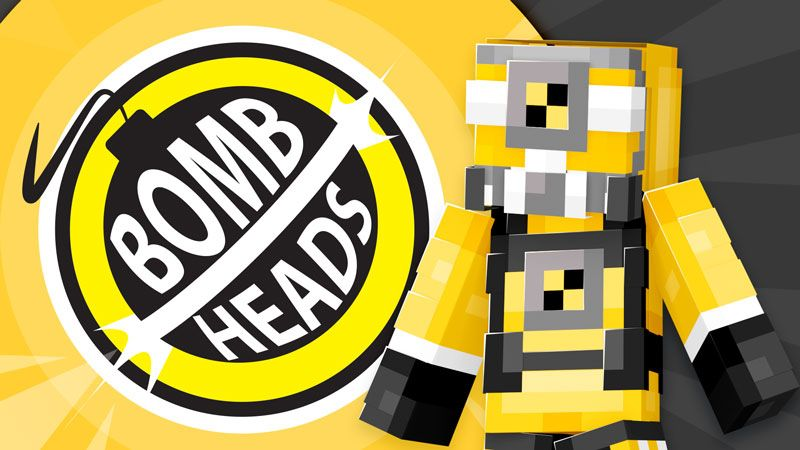 Bomb Heads on the Minecraft Marketplace by Ninja Squirrel Gaming