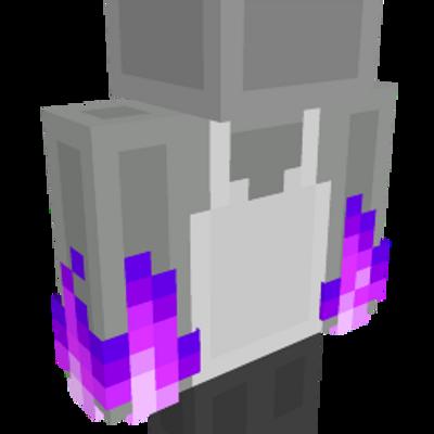 RGB Fire Hands Purple on the Minecraft Marketplace by HorizonBlocks