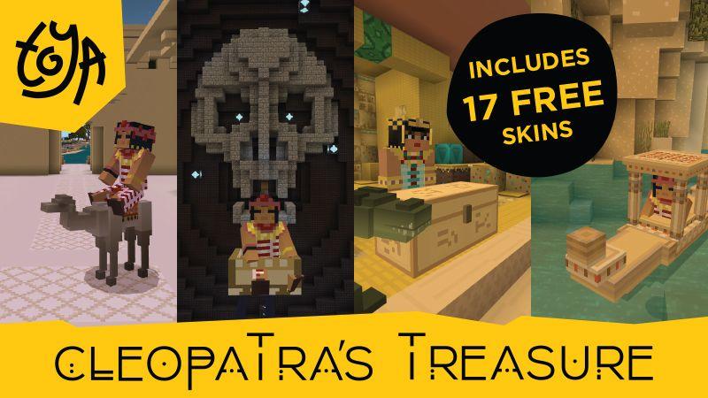 Cleopatras Treasure on the Minecraft Marketplace by Toya