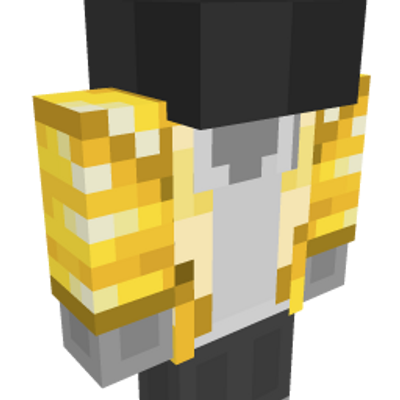 Gold Club Jacket on the Minecraft Marketplace by Minecraft