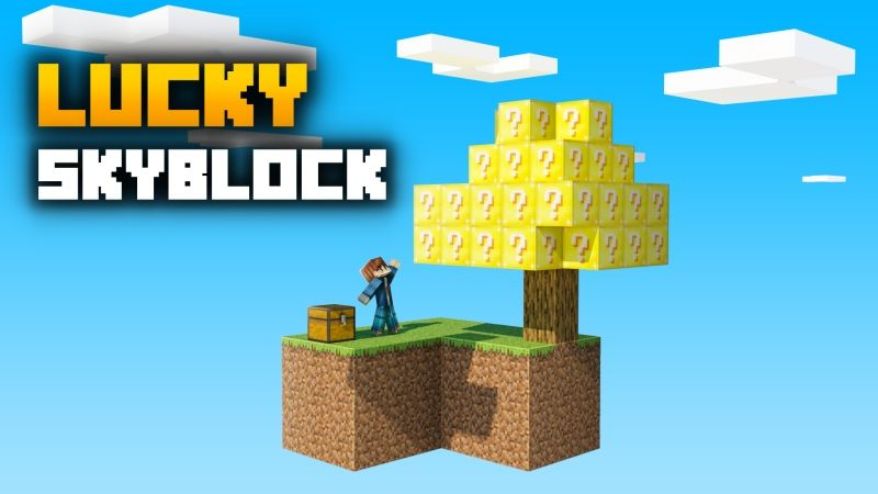 Lucky Skyblock on the Minecraft Marketplace by Fall Studios