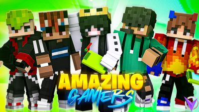 Amazing Gamers on the Minecraft Marketplace by Team Visionary