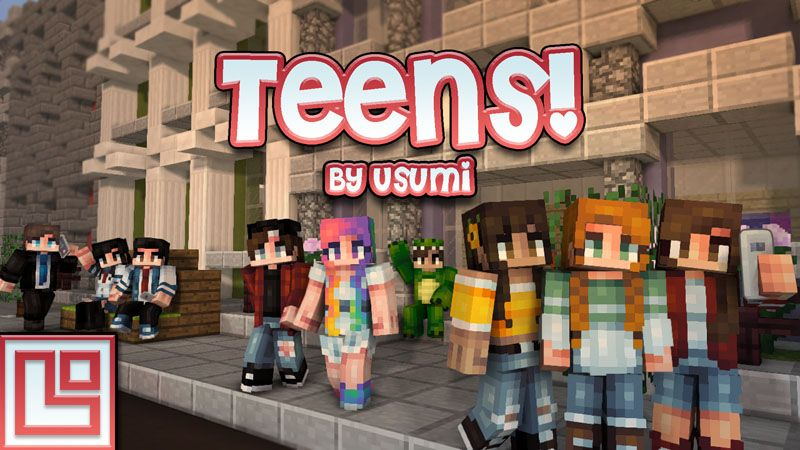Teens on the Minecraft Marketplace by Pixel Squared