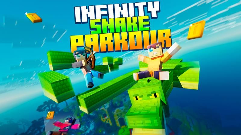 Infinity Snake Parkour on the Minecraft Marketplace by Cubed Creations