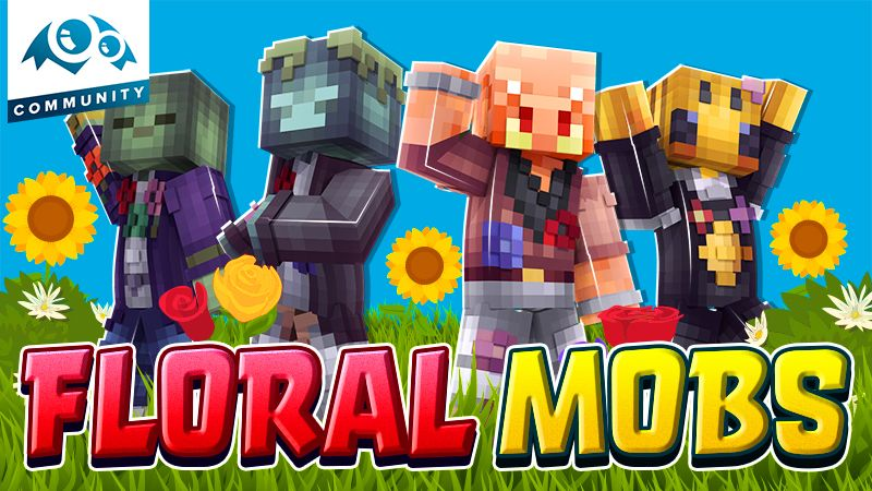 Floral Mobs on the Minecraft Marketplace by Monster Egg Studios