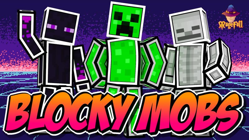 Blocky Mobs on the Minecraft Marketplace by Magefall