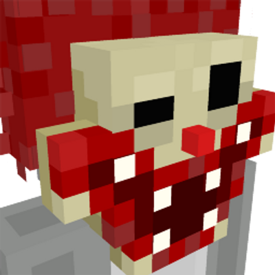 Scary Clown Mask on the Minecraft Marketplace by GoE-Craft
