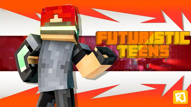 Futuristic Teens on the Minecraft Marketplace by Kuboc Studios