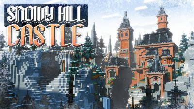 Snowy Hill Castle on the Minecraft Marketplace by BLOCKLAB Studios
