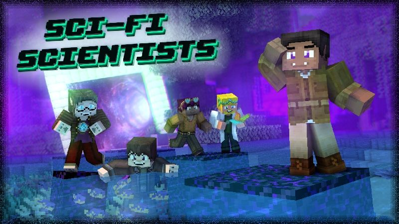 Sci Fi Scientists HD Skin Pack