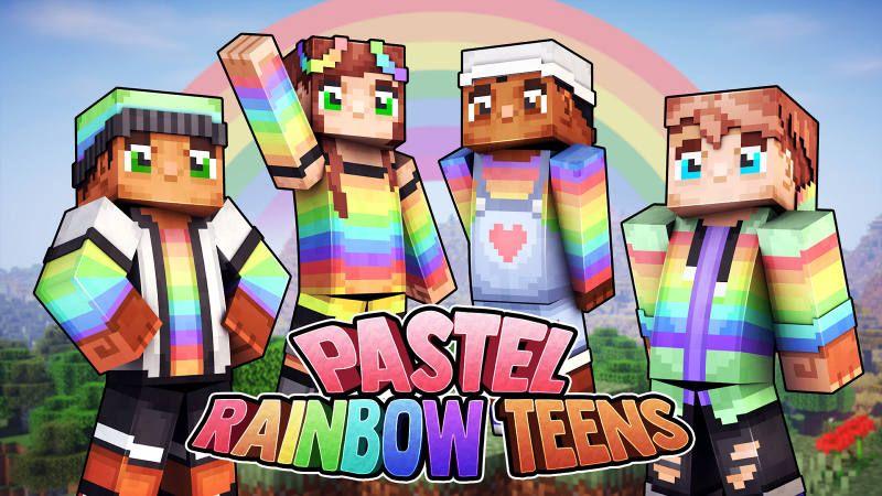 Pastel Rainbow Teens
