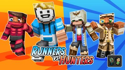 Runners Vs Hunters on the Minecraft Marketplace by BLOCKLAB Studios
