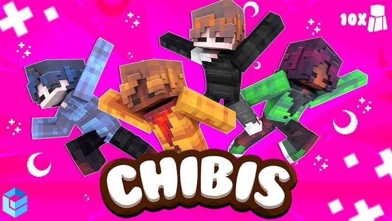 Chibis on the Minecraft Marketplace by Entity Builds
