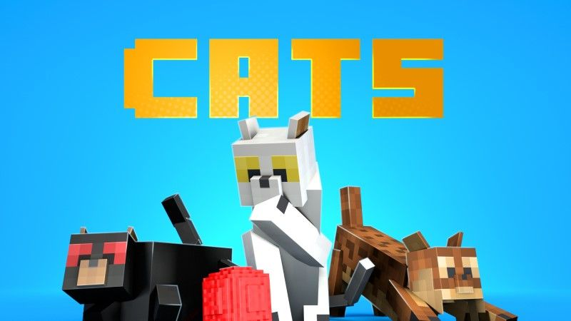 Cats on the Minecraft Marketplace by Shapescape