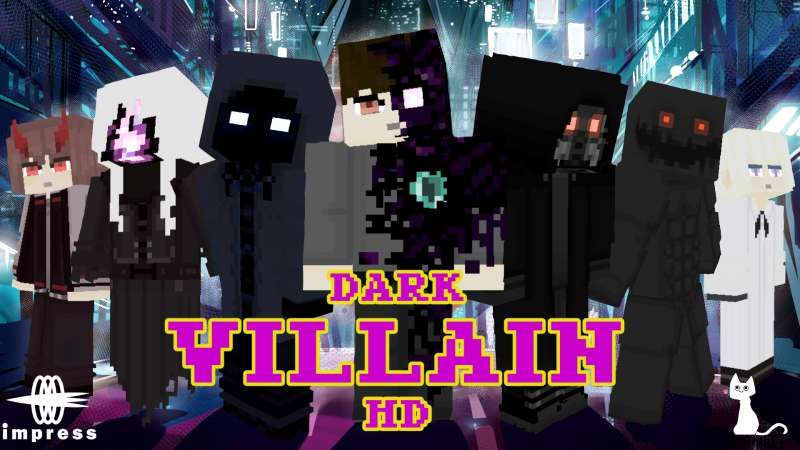 Dark Villain HD on the Minecraft Marketplace by Impress
