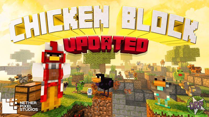 Chicken Block on the Minecraft Marketplace by Netherpixel