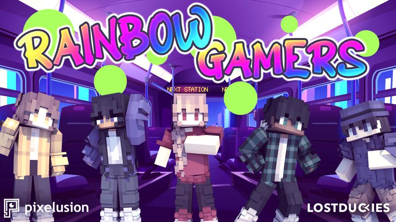 Rainbow Gamers on the Minecraft Marketplace by Pixelusion