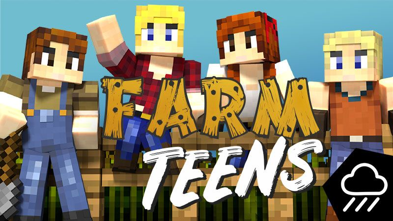 Farm Teens on the Minecraft Marketplace by Rainstorm Studios