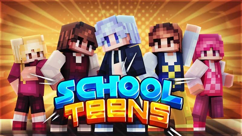 School Teens on the Minecraft Marketplace by Mine-North