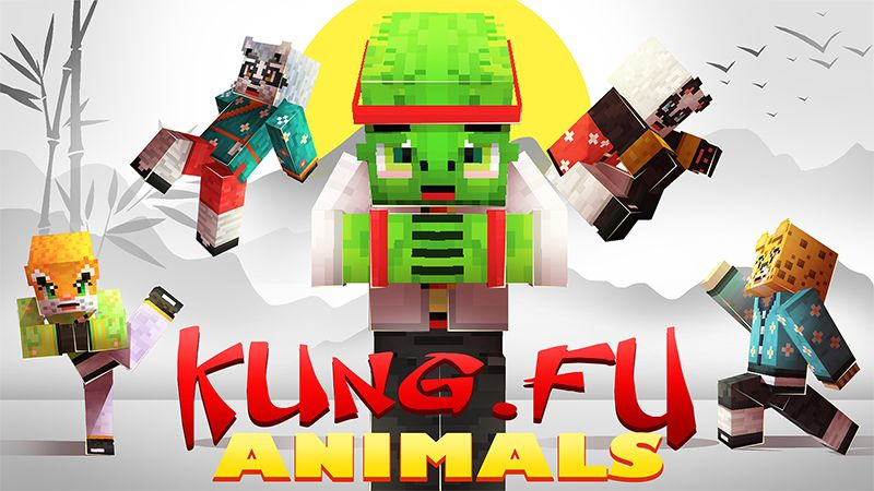 Kung Fu Animals on the Minecraft Marketplace by Hourglass Studios
