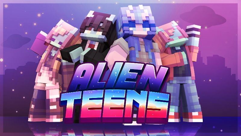 Alien Teens on the Minecraft Marketplace by Rainbow Theory