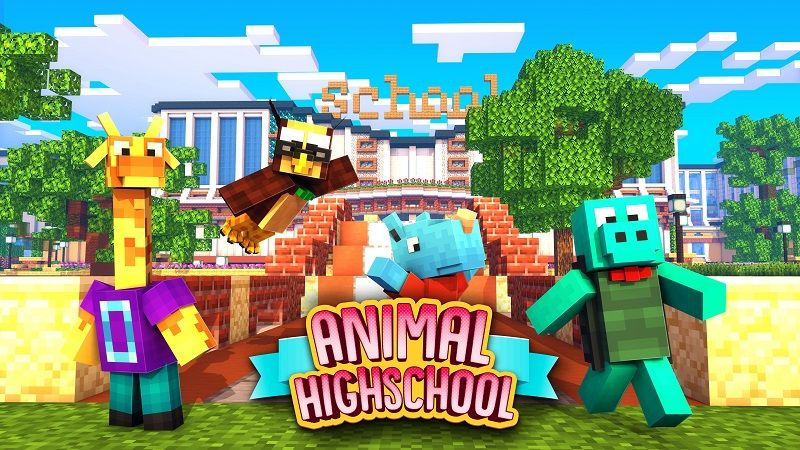 Animal High School on the Minecraft Marketplace by Nitric Concepts