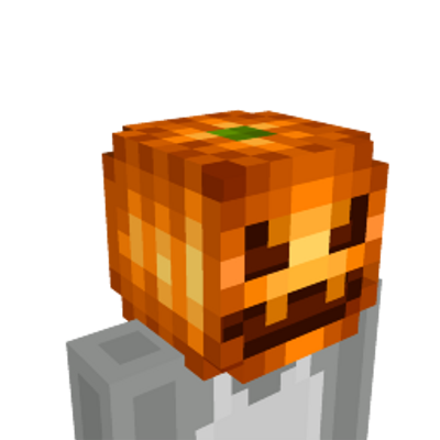 Glowing Pumpkin Head on the Minecraft Marketplace by Razzleberries