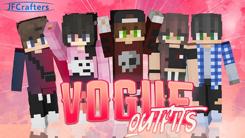 Vogue Outfits on the Minecraft Marketplace by JFCrafters