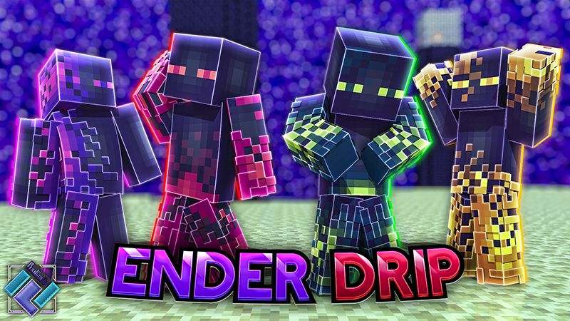 Ender Drip on the Minecraft Marketplace by PixelOneUp