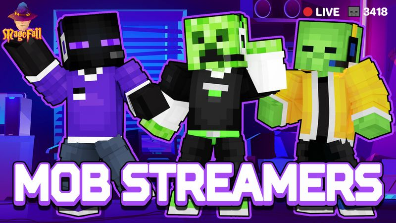 Mob Streamers on the Minecraft Marketplace by Magefall