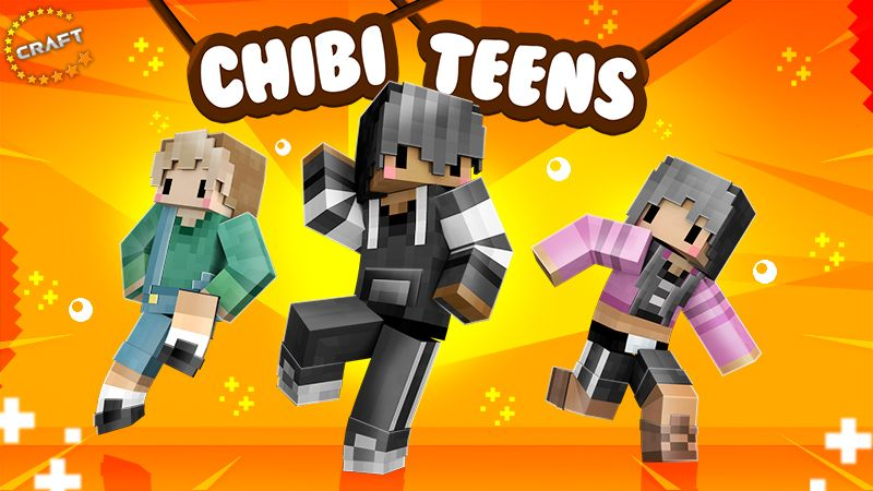 Chibi Teens on the Minecraft Marketplace by The Craft Stars