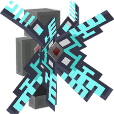 Cyber Energy Wings on the Minecraft Marketplace by Mythicus