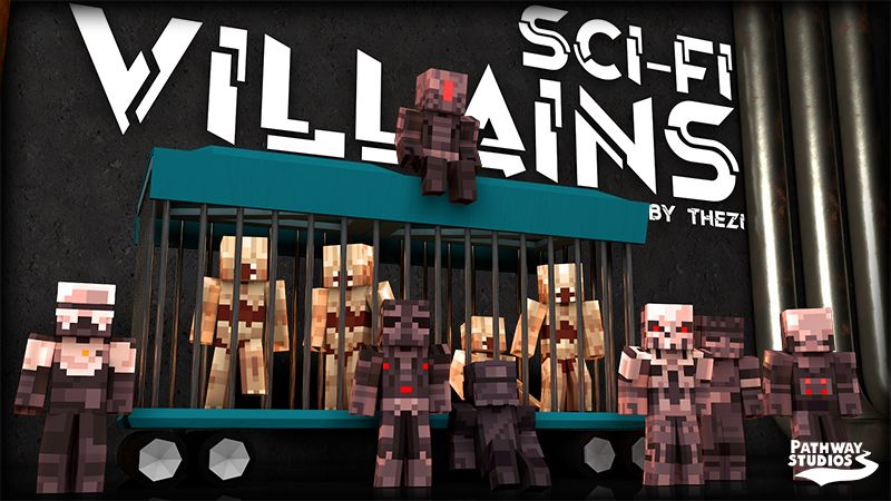 SciFi Villains on the Minecraft Marketplace by Pathway Studios