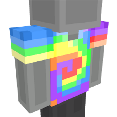 TieDye Shirt on the Minecraft Marketplace by 57Digital