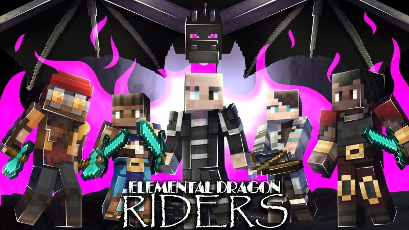 Elemental Dragon Riders on the Minecraft Marketplace by Hourglass Studios