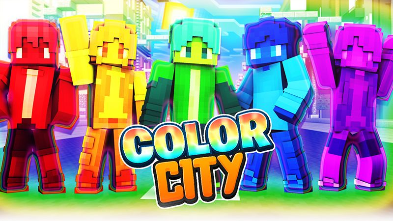 Color City on the Minecraft Marketplace by Sapphire Studios