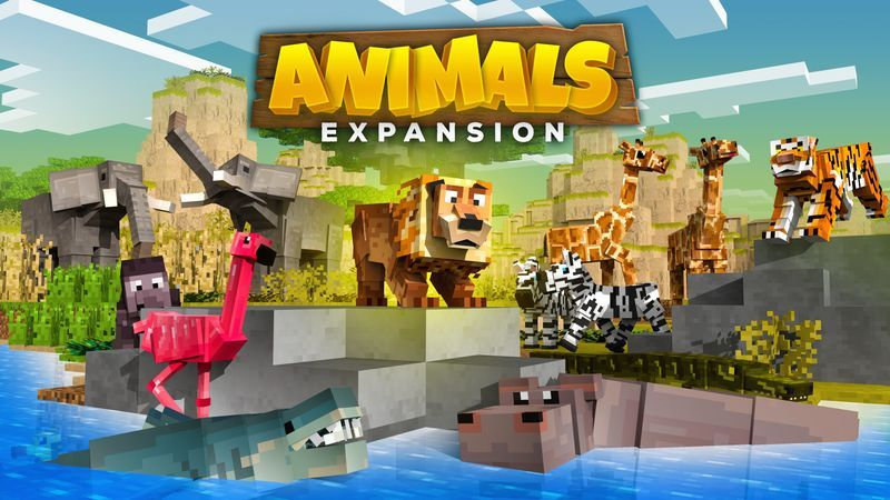 Animals Expansion on the Minecraft Marketplace by Cubed Creations